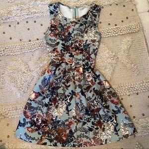 Short Vintage Style Tea Dress Pull & Bear